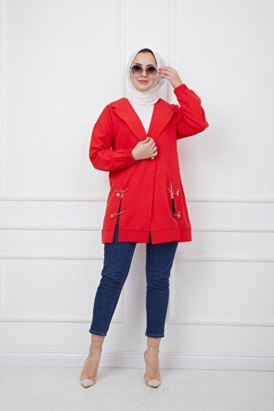 Kadın Kırmızı Ceket