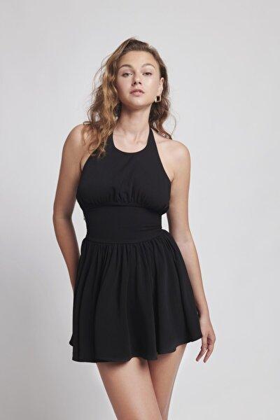 Kadın Siyah Mini Lydia Elbise