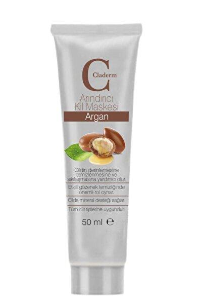 Sıkılaştırma ve Gerginleştirmeye Yardımcı Doğal Kil Maskesi 50 ml Argan