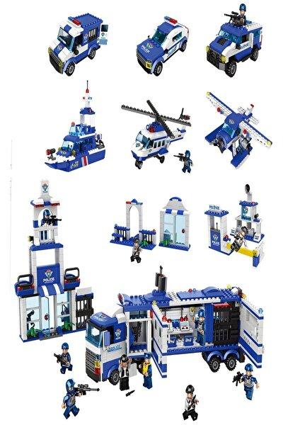 Polis Istasyon Yapboz Seti 1122 Parça Puzzle Çocuk Oyun Seti