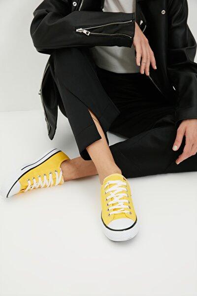 Sarı Kadın Sneaker TAKSS21SN0008