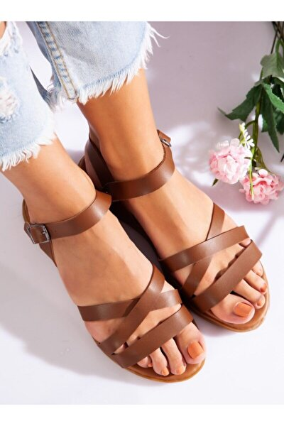 Sandalet - Taba