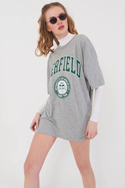 Baskılı T-shirt P9549 - D12