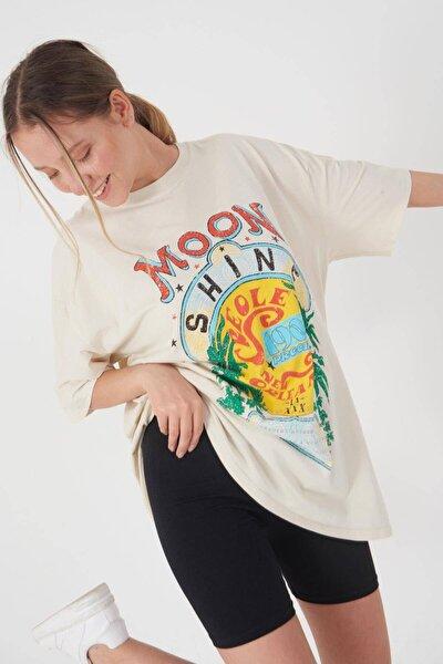 Baskılı T-shirt P9428 - D11