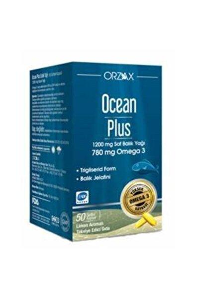Plus Omega 3 1200 Mg 50 Kapsül - LİMON 8697595870280 SKT: 04/2023