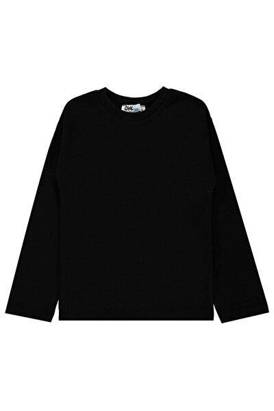 Erkek Çocuk Termal Sweatshirt Siyah