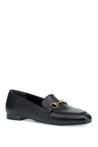 Elıza 1pr Siyah Kadın Loafer Ayakkabı