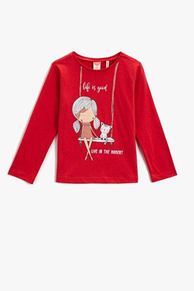 Kız Bebek Kırmızı T-Shirt 2KMG19867OK