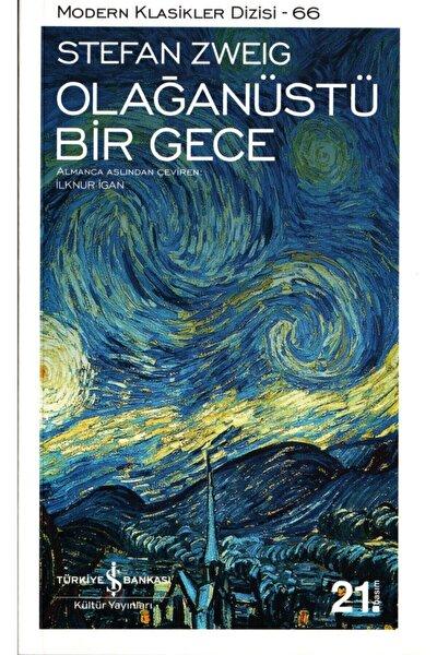 Olağanüstü Bir Gece  Stefan Zweig