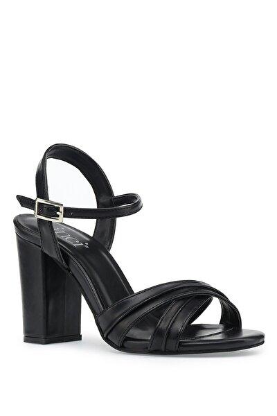 Jeanys.z 1pr Siyah Kadın Topuklu Ayakkabı