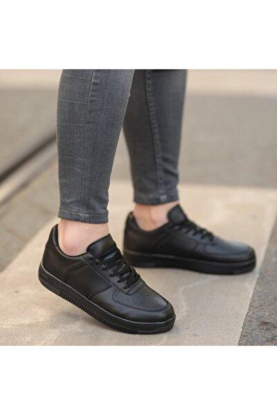Siyah Unisex Spor Ayakkabı