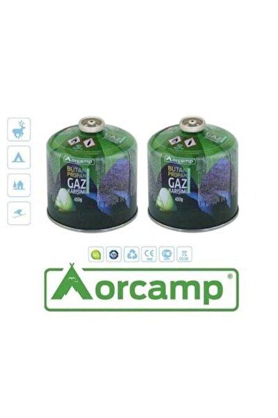 Orgaz 450 gr Vidalı Gaz Kartuş 2li Set Tüp - Kts 450