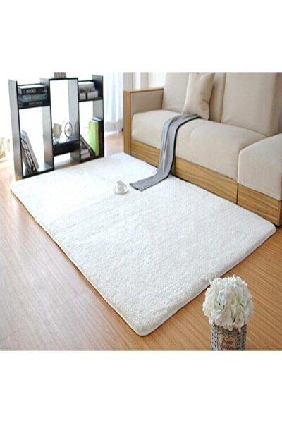 Dream House Peluş Halı Yumuşak Beyaz 40x60