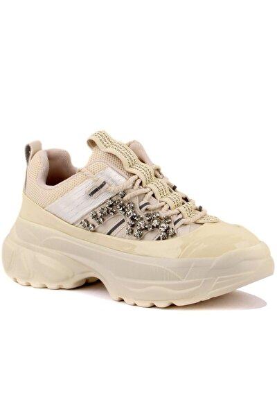 Kadın Kalın Tabanbej Sneaker