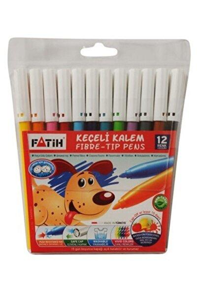 Keçeli Boya Kalemi 12 Renk Kampanyalı