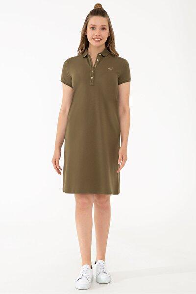 Yesıl Kadın Elbise