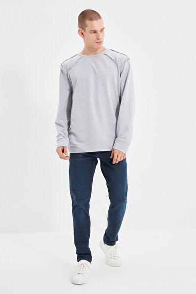 Lacivert Erkek Slim Fit Jeans TMNSS21JE0069