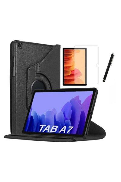 Galaxy Tab A7 Lite T225 Uyumlu Dönebilen Tablet Kılıfı + Ekran Koruyucu + Kalem 8.7 Inç
