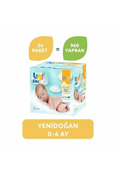 Yenidoğan Islak Mendil 24'li 960 Yaprak