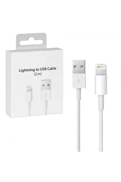 Apple Iphone Uyumlu 2 Metre Şarj Kablosu Usb Lightning
