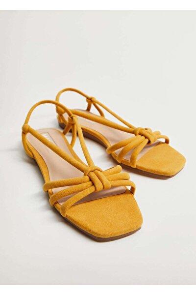 Çapraz Bantlı Sandalet