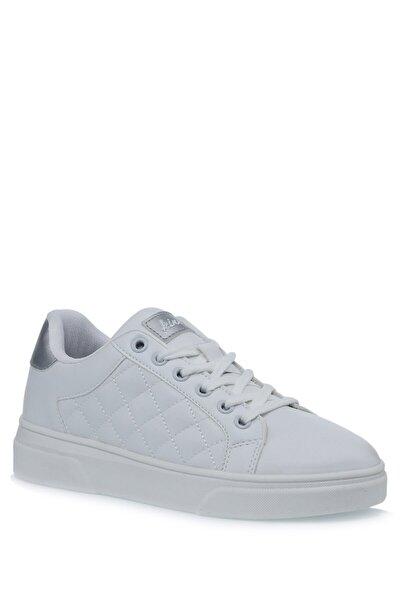 Phong 1pr Beyaz Kadın Havuz Taban Sneaker