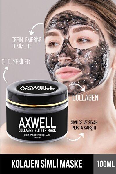 Arındırıcı Simli Collagen Maskesi Sivilce - Siyah Nokta 100 Ml