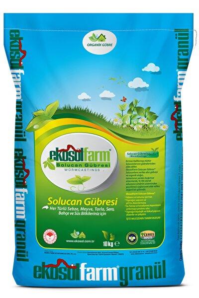 %100 Solucan Gübresi 10 Kg Organik Gübre