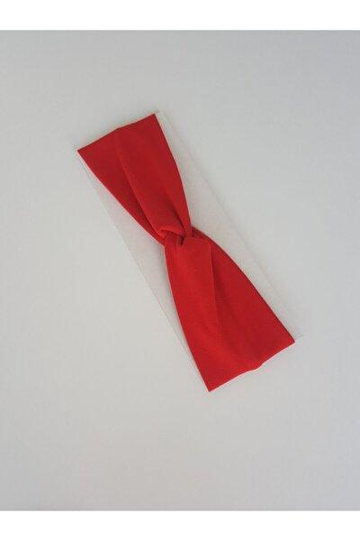 Bandana Saç Bandı (YETİŞKİNLER İÇİN) Kırmızı Renkli Standart