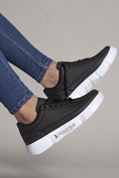 Siyah Beyaz Erkek Sneaker 0012x20
