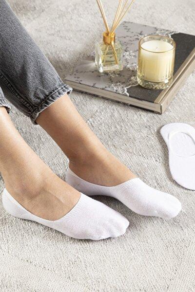 Regular Pamuk 2'li Kadın Çorap Beyaz