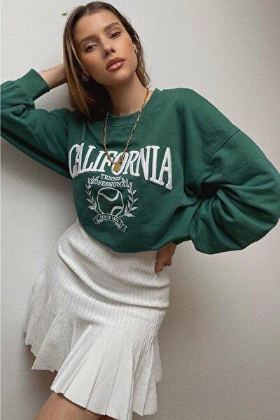 Mad Girls Haki Sweatshirt Mg1112