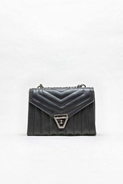 Siyah Kadın Çapraz Çanta