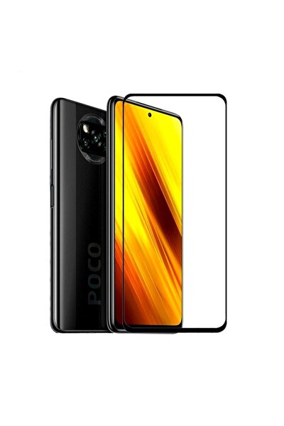 Xiaomi Poco X3 Uyumlu Nfc Tam Kaplayan Seramik Ekran Koruyucu