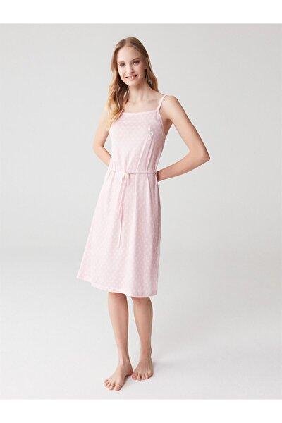 Kadın Pembe Elbise