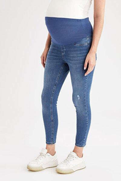 Hamile Skinny Fit Jean Pantolon
