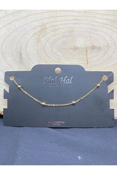 Altın Gümüş Kaplama Halhal