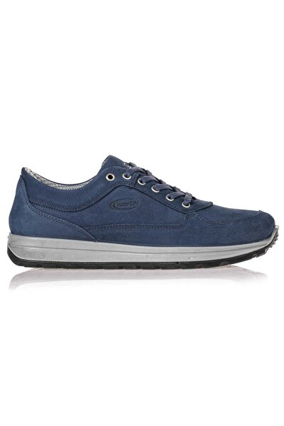 Su Geçirmez Deri Jean Erkek Günlük Ayakkabı M5661NJ 45