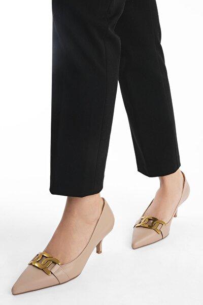 Kadın Stiletto Topuklu Ayakkabı LetyaBej