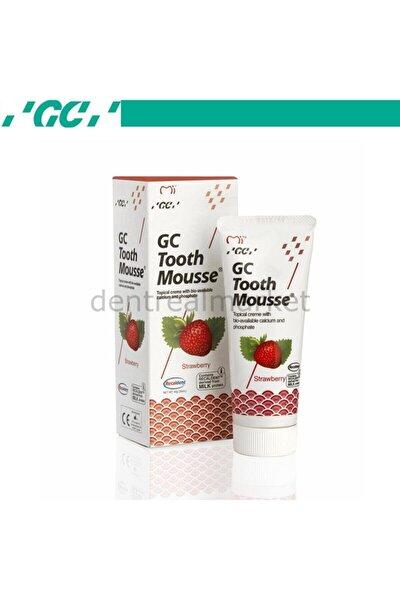 Tooth Mousse Çilek - Diş Minesi Koruyucu Kremi - Çilekli