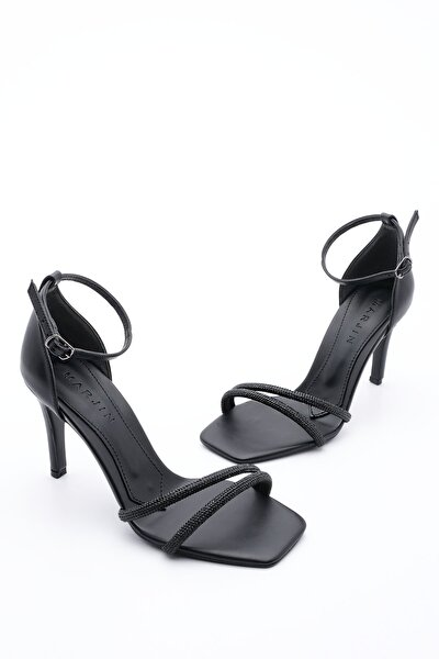 Kadın Abiye Topuklu Ayakkabı SaproSiyah