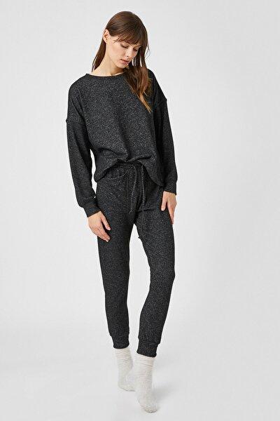 Kadın Antrasit Pijama Altı 1KLK71400OK