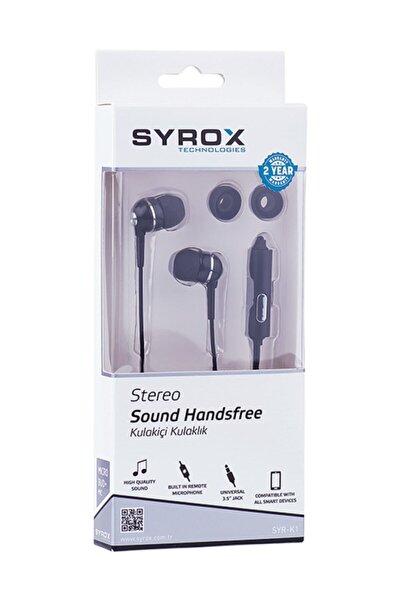 Mikrafonlu Stereo Kulak İçi Kulaklık Siyah
