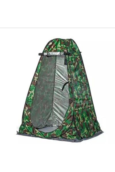 Kamp Alanı Duş Giyinme Wc Çadırı Fotoğrafcı Prova Kabini (kamuflaj)