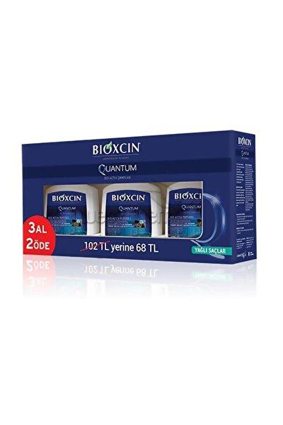 Yağlı Saçlar Quantum Şampuan 300 ml 3 Adet  8680512625513