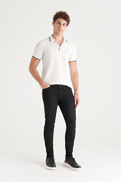 Erkek Siyah Skinny Fit Jean Pantolon E003513