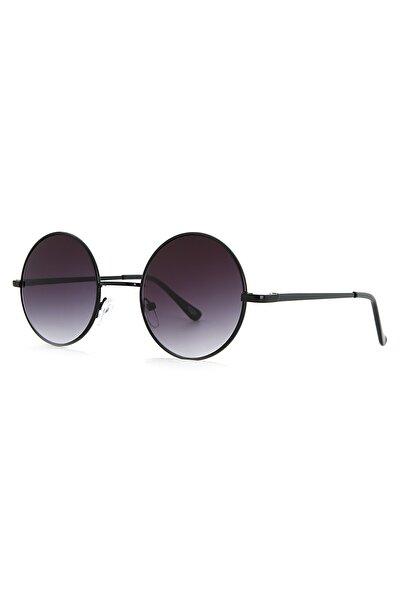 Unisex Yuvarlak Tasarım Güneş Gözlüğü Apss046900