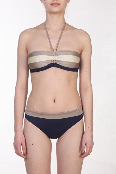 Kadın Desenli/Renkli Bikini Takımı ZB.1791-19