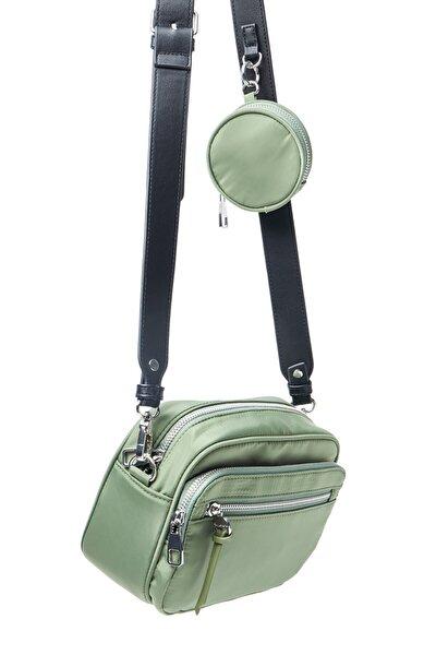 Fermuarlı Çapraz Askılı Çanta