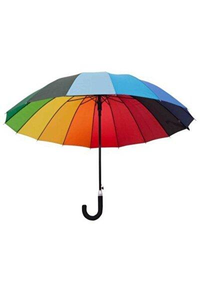 Gökkuşağı Uzun Boy Şemsiye